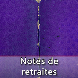 notes de retraites