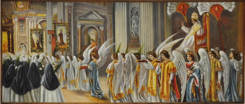 TABLEAU La canonisation mystique