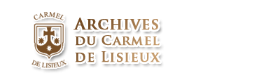 ARCHIVO DEL CARMELO DE LISIEUX