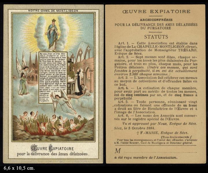 Prier pour les âmes du purgatoire avec ND de Montligeon!! 088