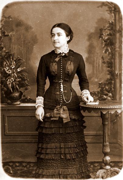 Pauline Martin jeune fille