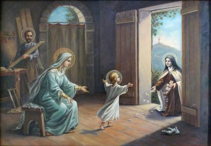 TABLEAU Thérèse a Nazaret