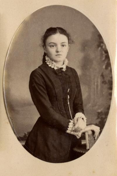 Jeanne Guérin petite fille