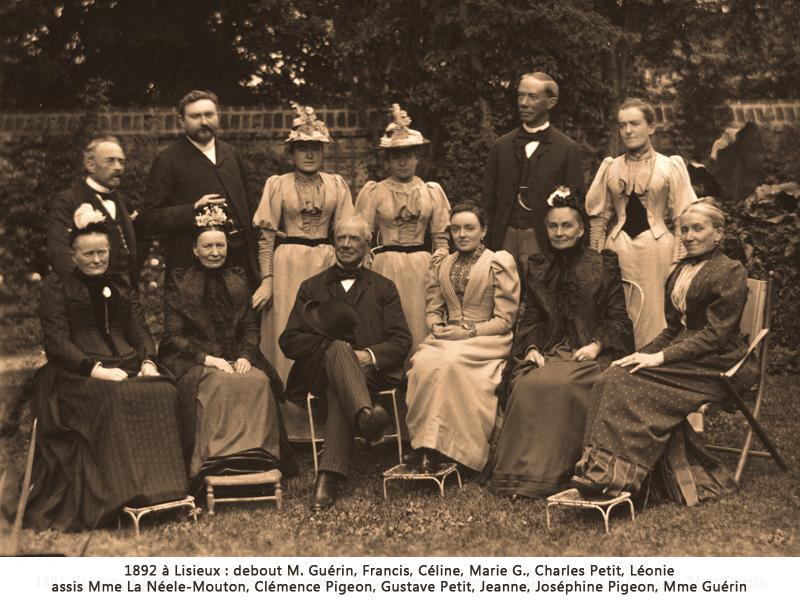 Réception chez les Guérin - 1892