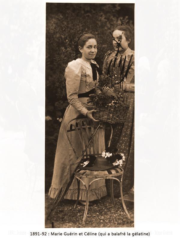 Marie Guérin et Céline