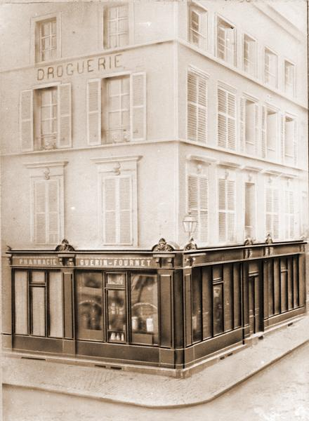 Lisieux - the Guérin pharmacy