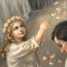 VIE-31 Life of St Therese in pictures - detail