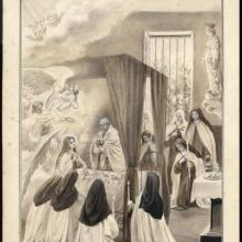 Life in pictures 88 the last communion of Therese of Lisieux
