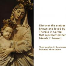 Statues contemporary with St Therese