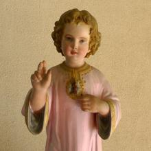 The Child Jesus of the cloister - detail