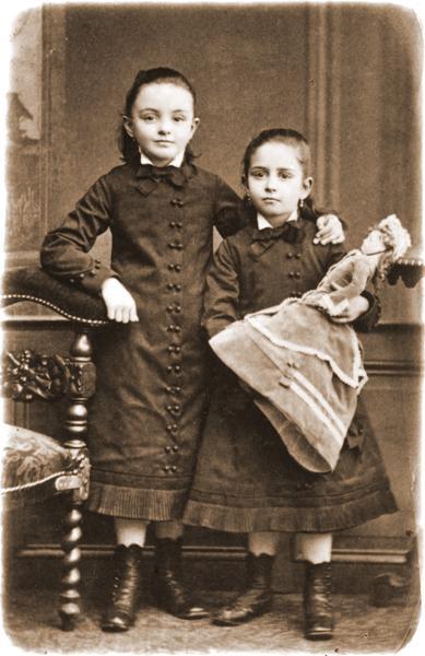 Jeanne et Marie Guérin petites filles