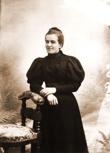 Léonie en 1895