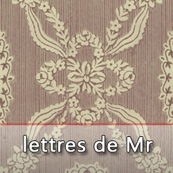 Guerin lettres Mr
