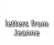 NEELE lettres Jeanne